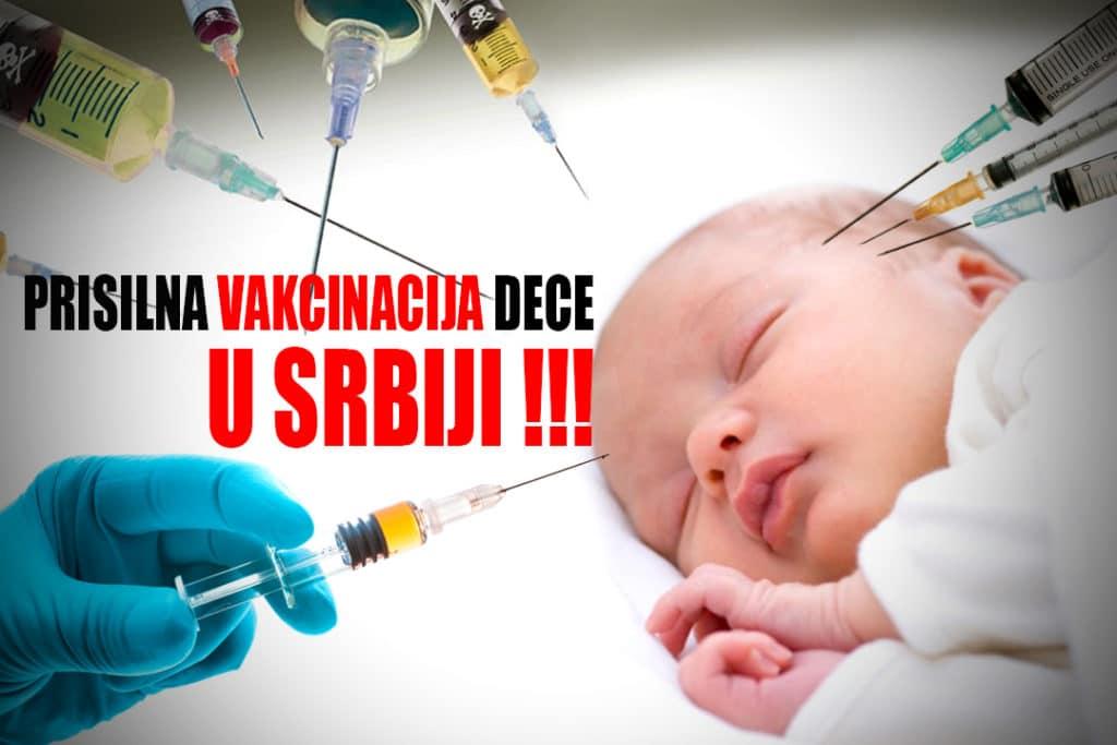 Prisilna vakcinacija dece u Srbiji