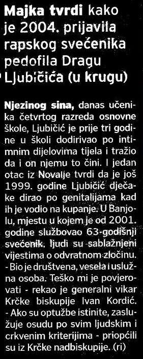 Kardianl-Josip-Bozanić-prikrivao-pedofiliju-od-strane-svecenika-Drage-Ljubicica-2016