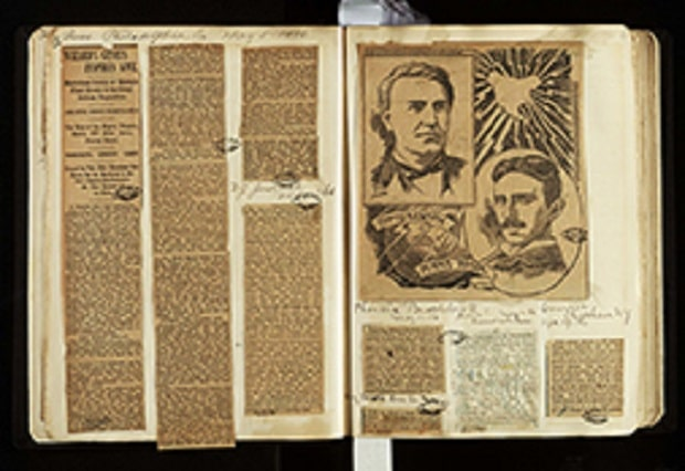 Nikola Tesla - Novinski članci