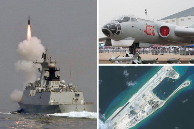 Chinese deploy nuclear bombers amid fears World War 3 could break out 1