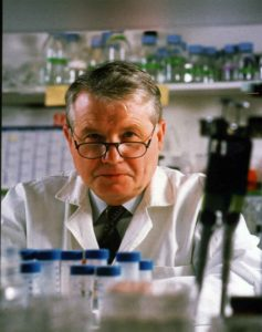 Luc Antoine Montagnier (born 18 August 1932) is a French virologist and joint recipient with Françoise Barré-Sinoussi and Harald zur Hausen of the 2008 Nobel Prize in Physiology or Medicine for his discovery of the human immunodeficiency virus (HIV)