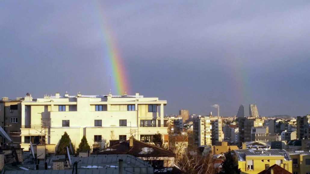 Andrew MacDowall‏ @andrewmacdowall Follow More Double rainbow over #Belgrade #Beograd #Serbia