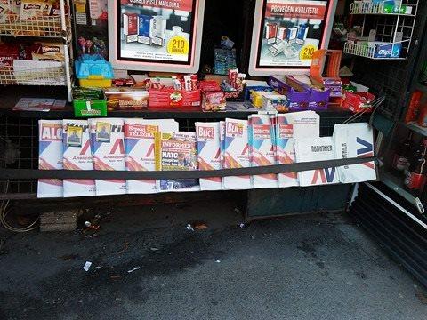 Kiosk sa štampom - Beograd