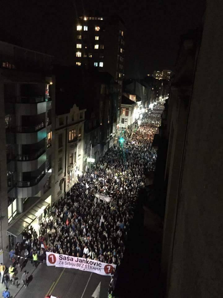 Beograd - protestna šetnja