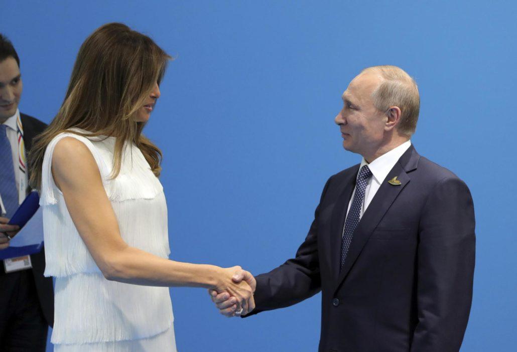 Istorijski susret Melanie Trump i Vladimira Vladimiroviča Putina