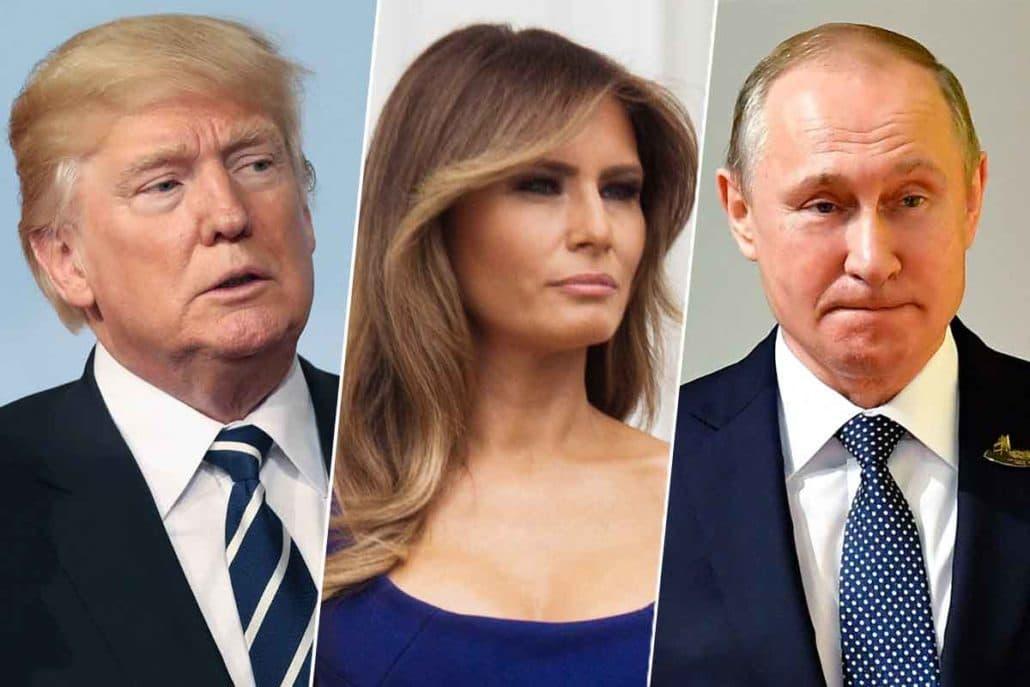 Trump Melania Putin G20