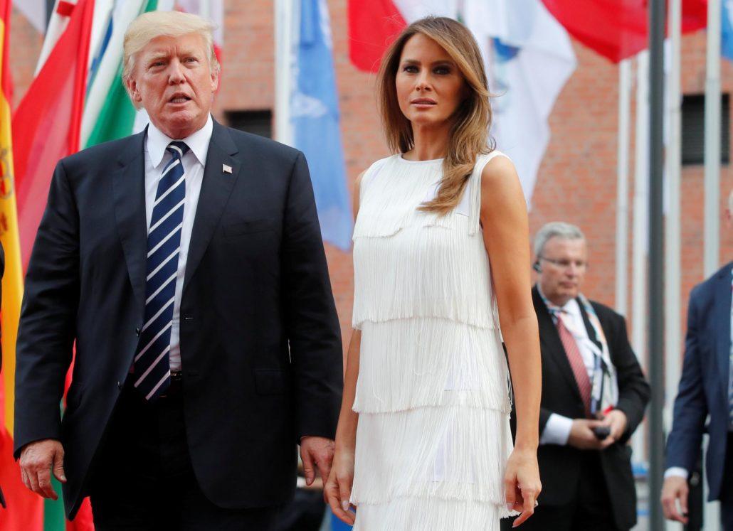 Trump sa svojom suprugom