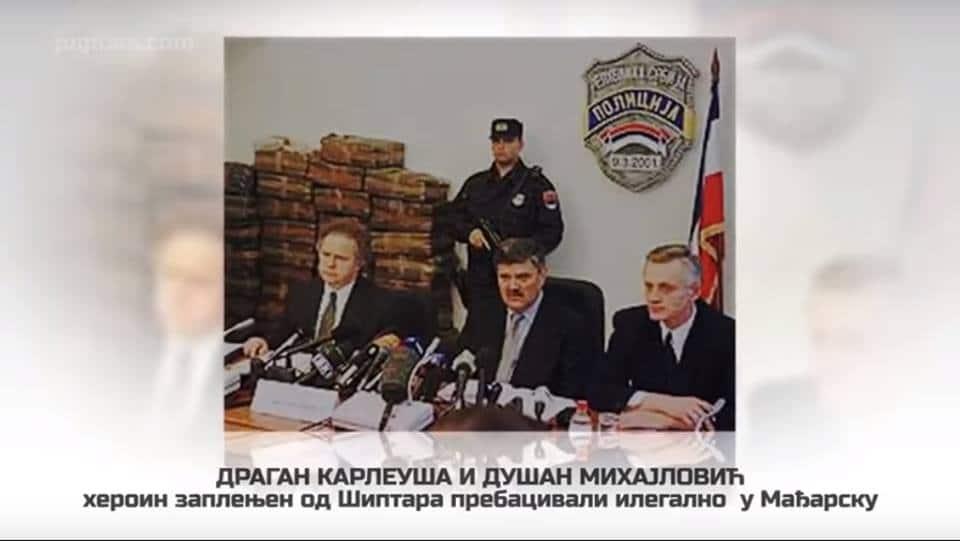 Dragan Karleuša i Dušan Mihajlović heroin zaplenjen od Šiptara prebacivali ilegalno u Mađarsku