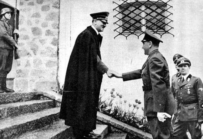 6. Ante Pavelić u druženju s Hitlerom (2.)