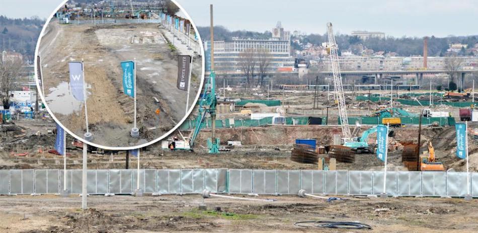 Na Beogradu na vodi nema radova