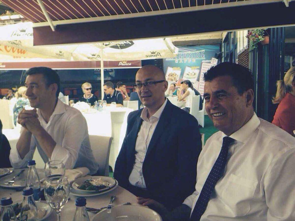 Zajedno na ručku Kadri Veseli i Goran Rakić