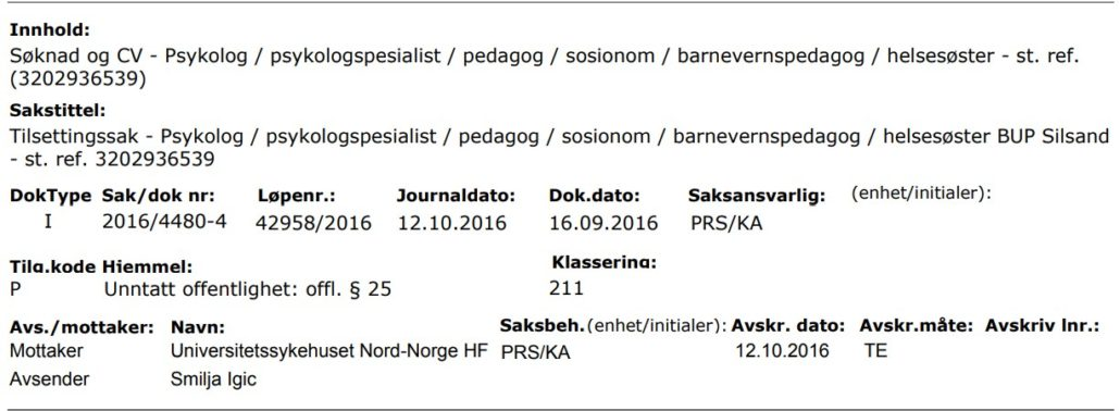 Smilja Igic – Psiholog gradskog centra za socijalni rad Beograd, Srbija