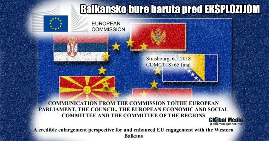 Balkansko bure baruta pred eksplozijom. Zvanični izveštaj Evropske Komisije