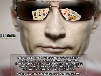"""PUTIN OBJAVIO RAT: Putin je lupio šakom o sto i zarekao se da će uništiti Novi svetski poredak. """"Svet nije njihov i oni ne mogu da rade šta hoće. Ukoliko im ne stanemo na put, biće drugih posledica. Nećemo dozvoliti da nam naređuju"""", rekao je on."""