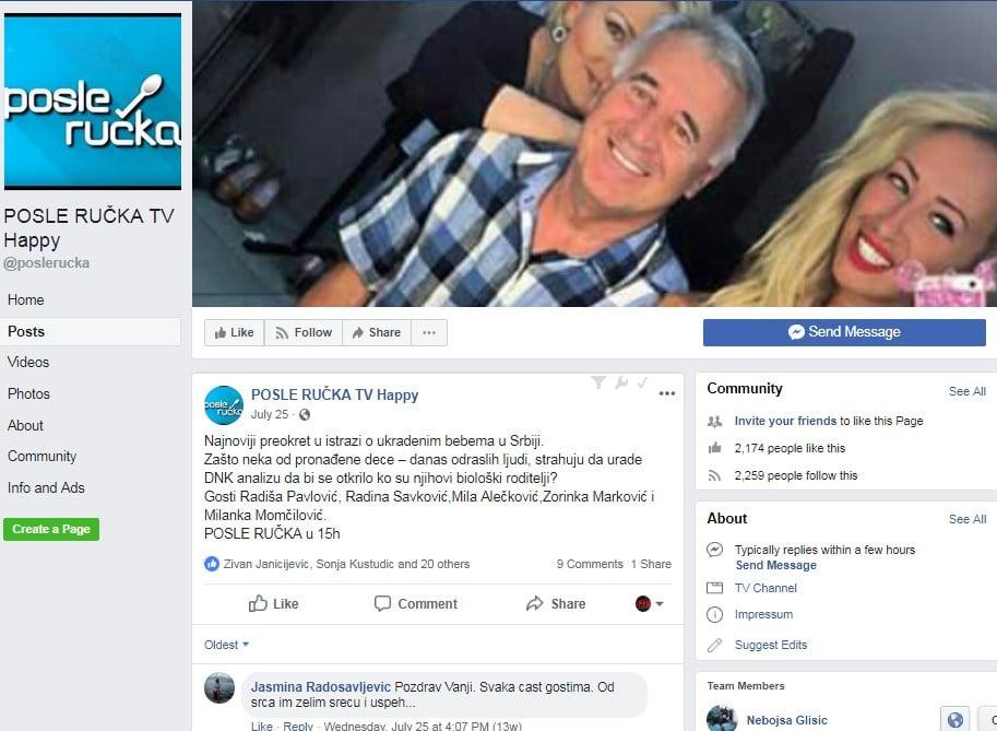 Vanja Bulić Happy pre i posle ručka