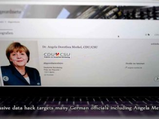 Massive data hack targets many German officials including Angela Merkel