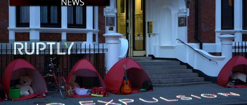 Ecuadorian Embassy in London