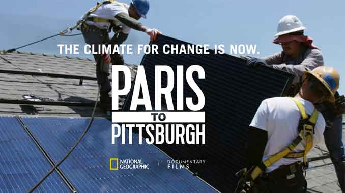 FROM PARIS TO PITTSBURGH: COMBATING CLIMATE CHANGE - Dina Krijestorac Contributing writer