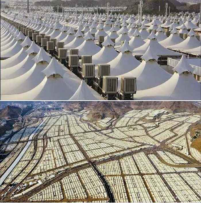 Saudi Arabia refugee camp