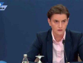 Ana Brnabić suspenduje osnovna ljudska prava i uvodi diktaturu u Srbiju. Informacije pod karantinom