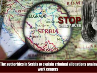 UNESCO: Serious criminal activities in social work centers in Serbia.
